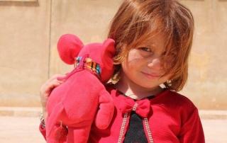 Niña Refugiada Siria