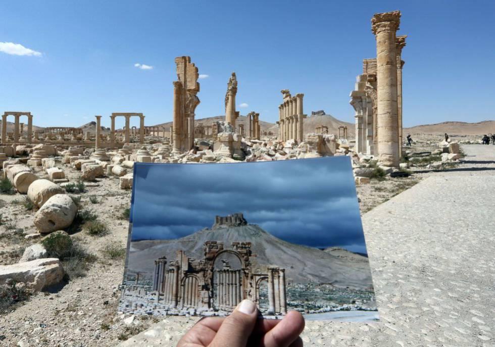 Proteger el patrimonio cultural de Siria