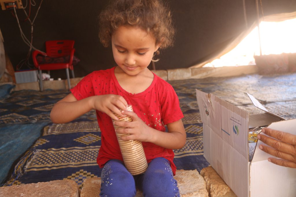 niños Siria hambre