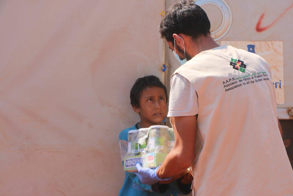 niños sirios hambre