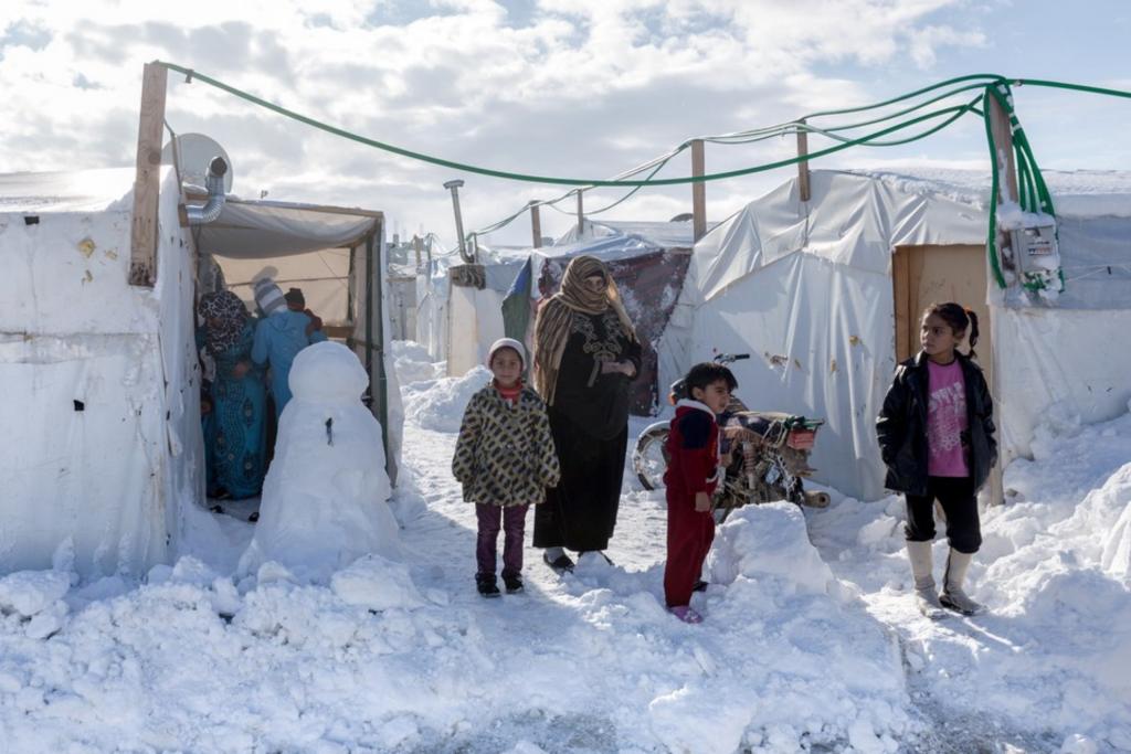 invierno Siria