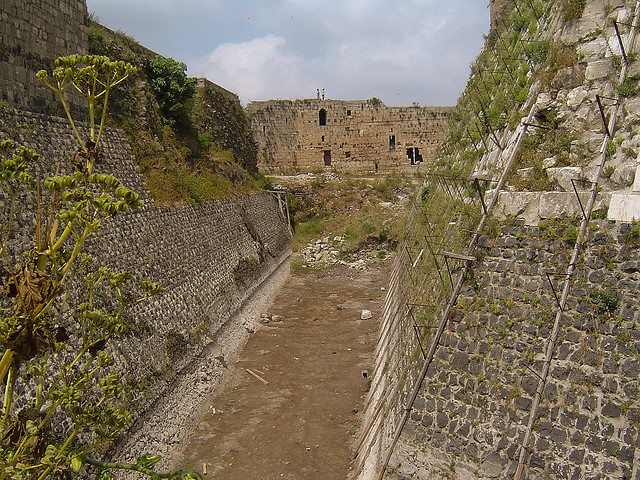 Moat, Krak Des Chevaliers